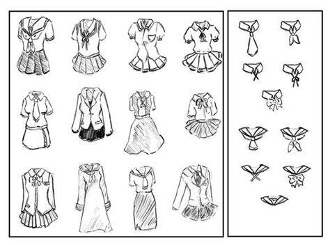 school outfits anime sailor moon cute kawaii drawing
