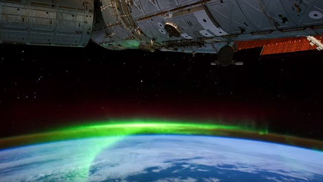 YouTube: NASA te muestra las auroras boreal y austral grabadas en Ultra HD. (Captura de YouTube)