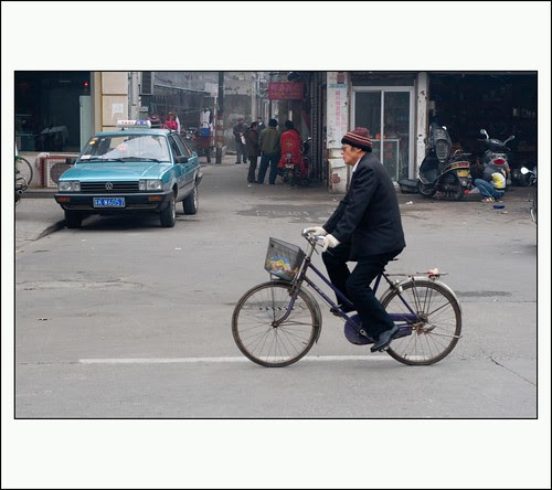 Op de fiets in China