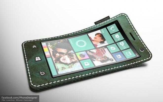 leather phone