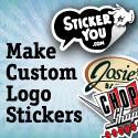 Make Custom Logo Stickers on StickerYou.com