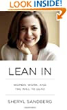 Lean In by Sheryl Sandberg book cover