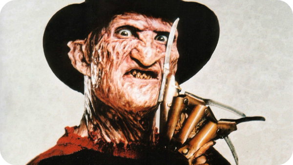 Freddy Krueger from Nightmare on Elm Street