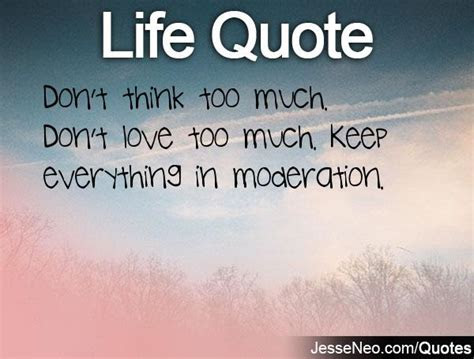 Too Much Thinking Funny Quotes
