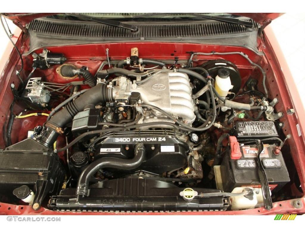 2003 Toyota Tacoma V6 PreRunner Double Cab 3.4 Liter DOHC ...