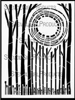 Celestial Grove Stencil