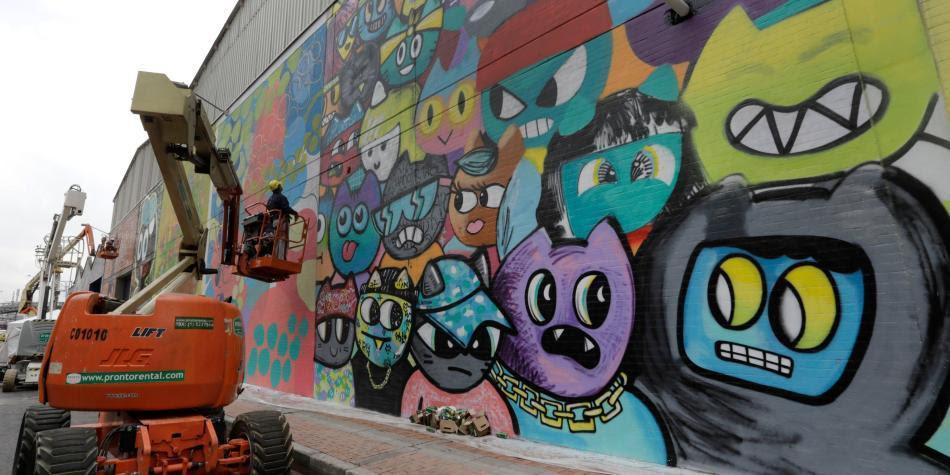 Segunda Edicion De Distrito Graffiti En Puente Aranda Bogota