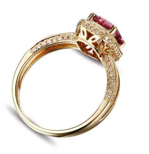 Cheap Yellow Gold Engagement Rings   Wedding and Bridal