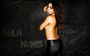 Mila Kunis se llevó el título a la mujer más sexy del mundo
