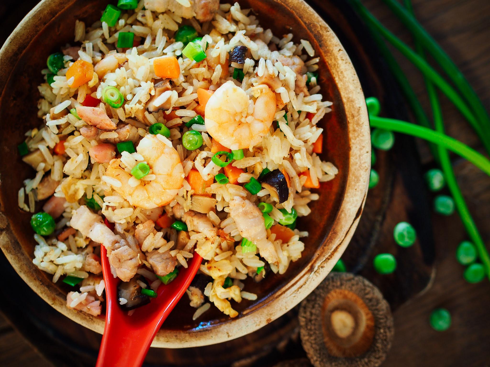 Ryż Dania I Potrawy Azjatyckie