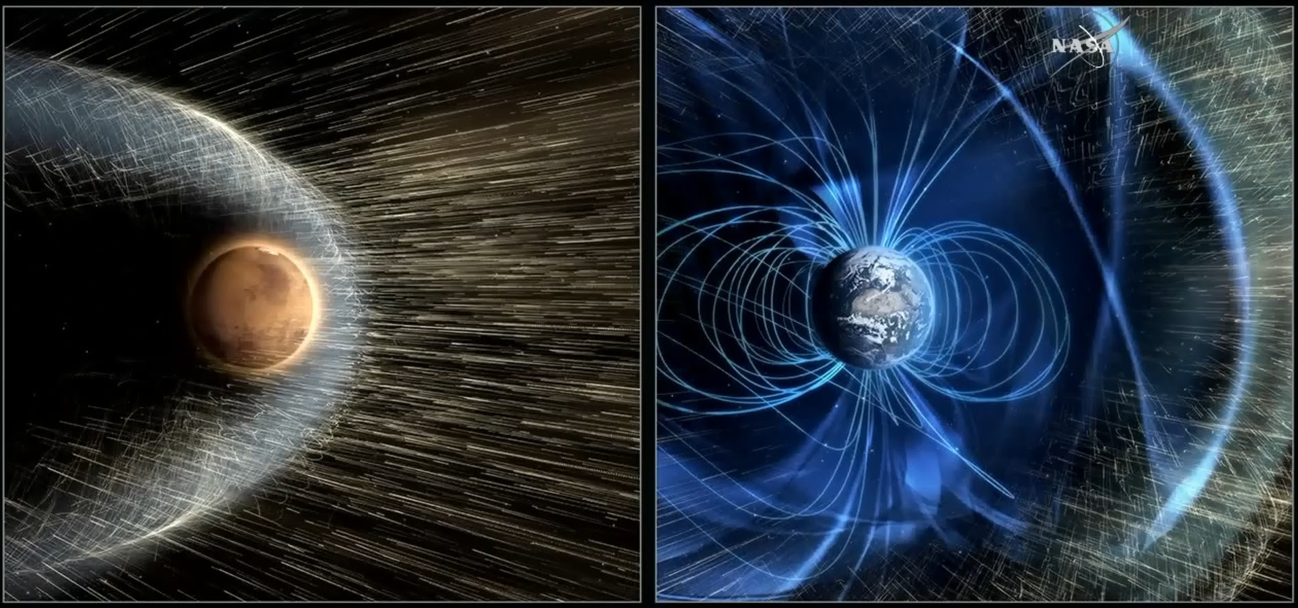 Image result for NASA Wants to Build a Magnetic Shield Around Mars