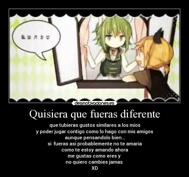 Carteles Olvidar Anime Vocaloid Desmotivaciones Frases T