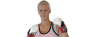 Cindy Dandois (Photo courtesy Perfect Team MMA)