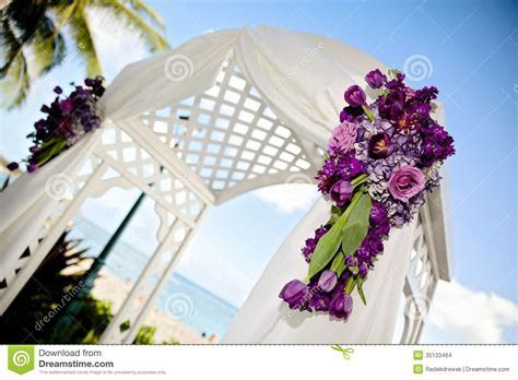 Wedding Arch stock photo. Image of love, hydrangeas