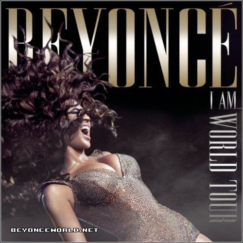 Check out the official cover of Beyonce's 'I Am…World Tour' album cover.
