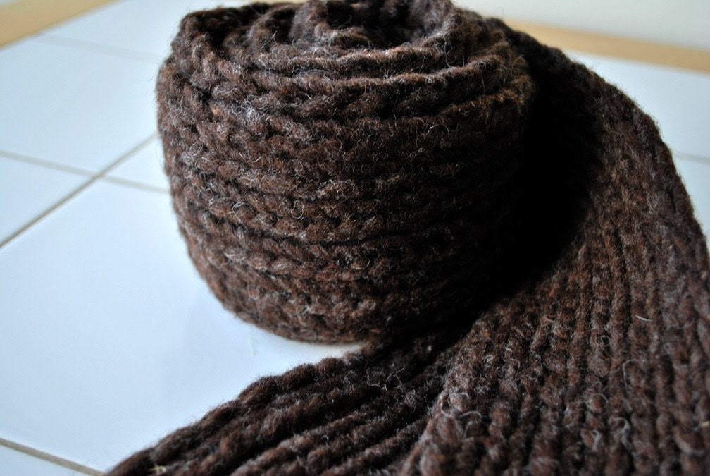 Chocolate Scarf