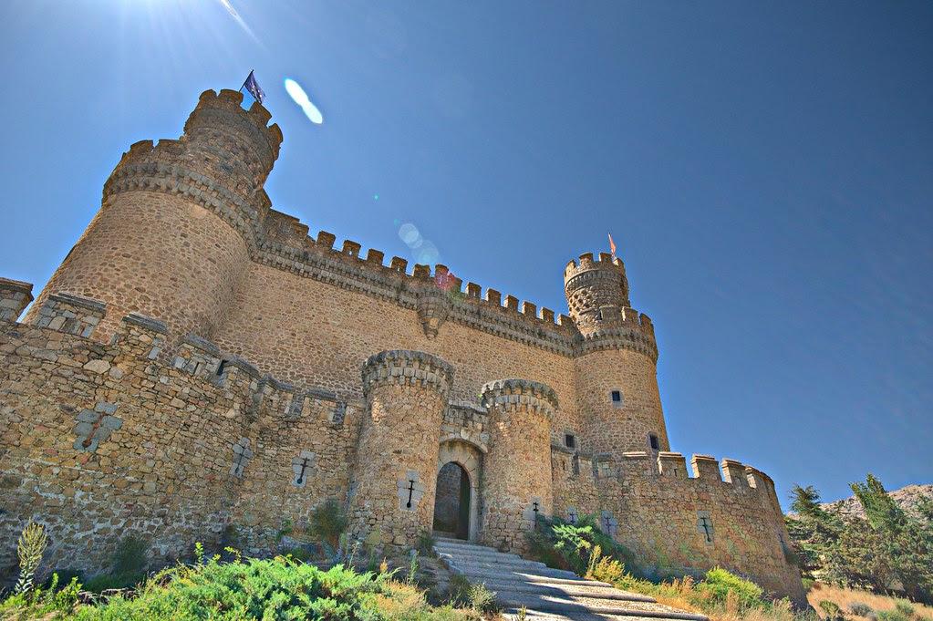 castillo de los Mendoza, Spain
