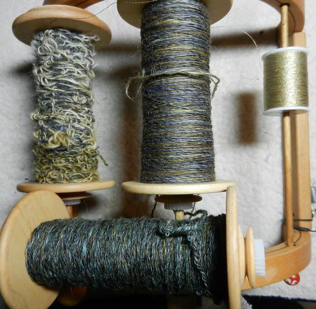 Boucle challange yarns