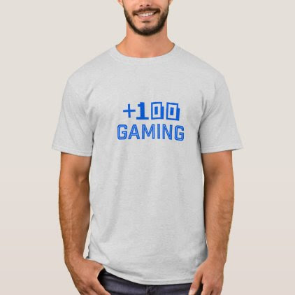 Team +100 Gaming T-Shirt 2017