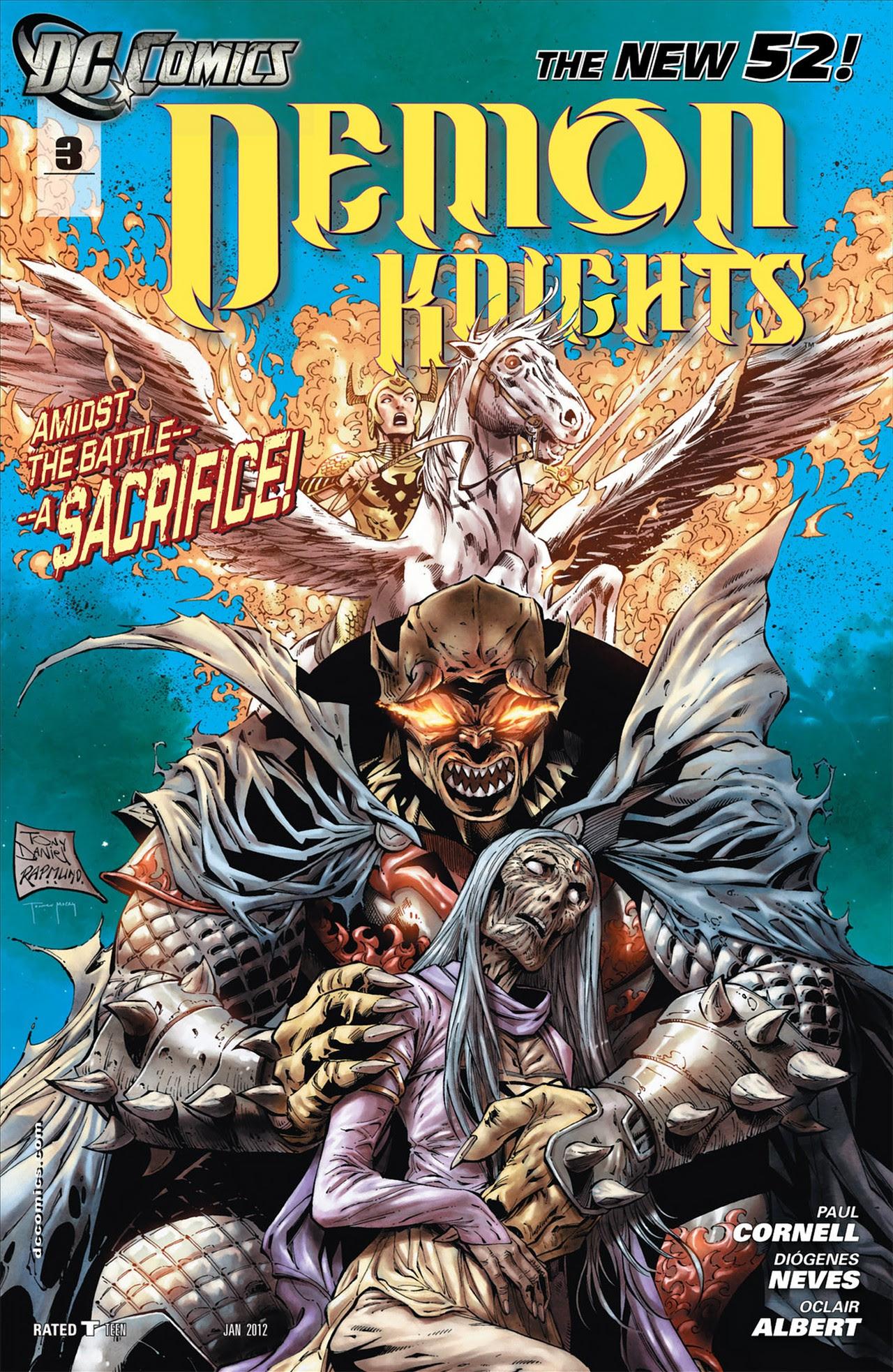 Resultado de imagem para Demon Knights Nº 3