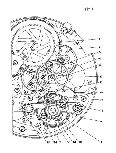 1859x2446 Mechanical Engineering Drawing in 2019 | Patent