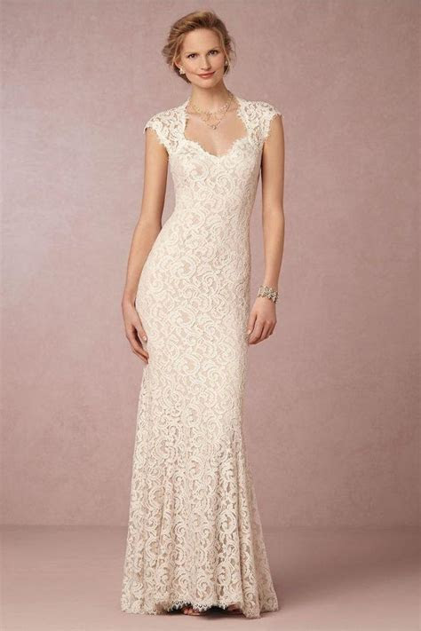 Vintage Lace Wedding Dresses From BHLDN   MODwedding