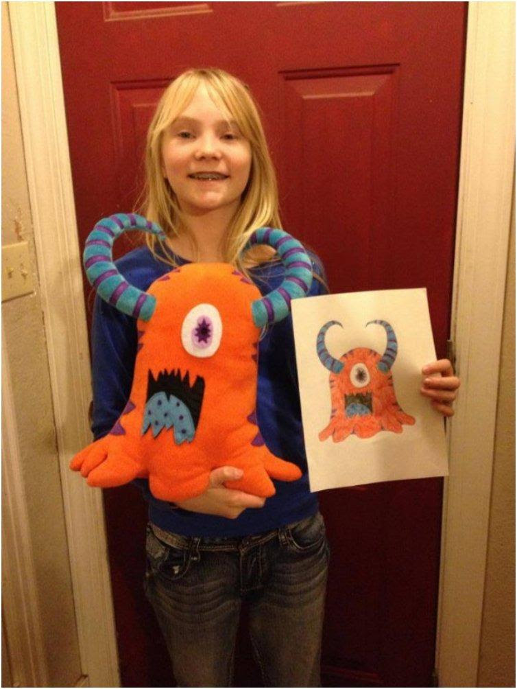 Get Your Kids Drawing Made Into A Plushy Budsies Holiday Gift