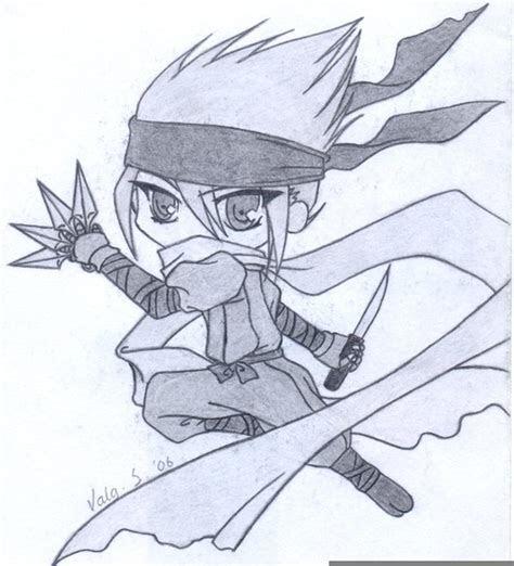 ninja anime drawing  images  clkercom vector