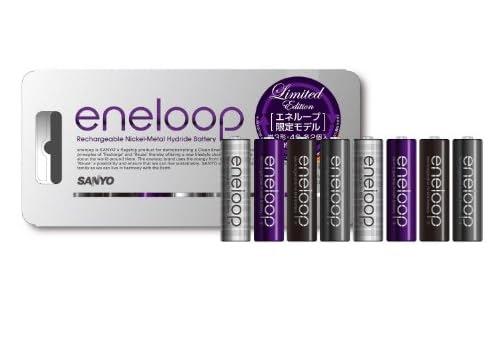 SANYO eneloop 限定単3形8本パック HR-3UTGB-8U