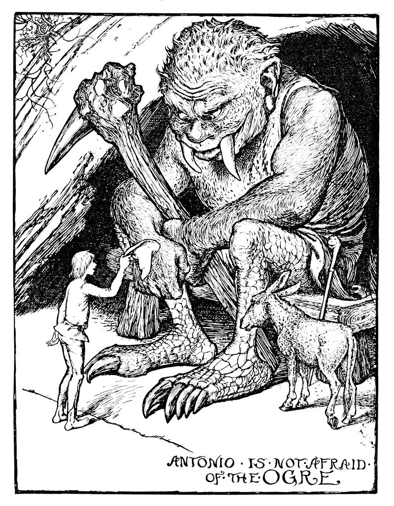 Henry Justice Ford - The grey fairy book edited by Andrew Lang , 1905 (illustration 10)