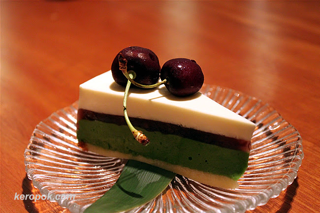 Macha Cheese Cake