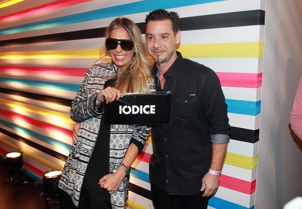 Adriane Galisteu e o marido, Alexandre Iódice (Foto: Celso Tavares/EGO)