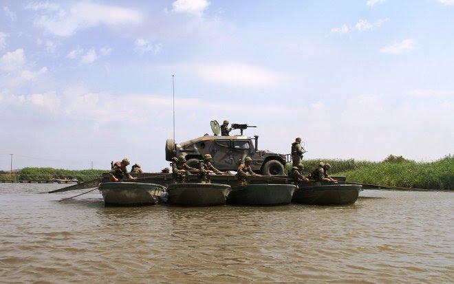 Η άσκηση πραγματοποιήθηκε από το 642 Μηχανοκίνητο Τάγμα Πεζικού, της 7ης Μ/Κ ΤΑΞ «ΣΑΡΑΝΤΑΠΟΡΟΣ», αντικείμενο της οποίας ήταν η εκπαίδευση των ασκούμενων τμημάτων στη σχεδίαση, οργάνωση, προπαρασκευή και διεξαγωγή επιχείρησης βίαιης διάβασης ποταμού.