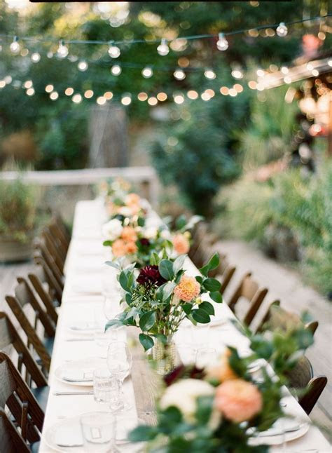 Best 25  Outdoor wedding tables ideas on Pinterest