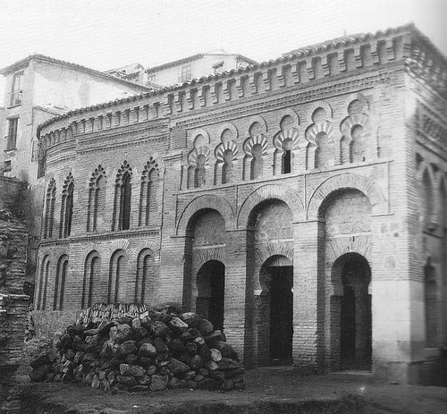 Mezquita del Cristo de la Luz (Toledo) tras la restauración de 1909. Foto Rodríguez