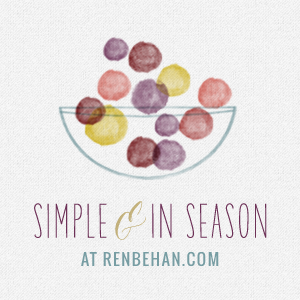 Simple and in Season NOW OPEN