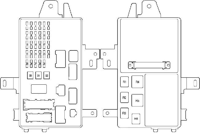 01 06 Lexus Es300 Es330 Xv30 Fuse Box Diagram