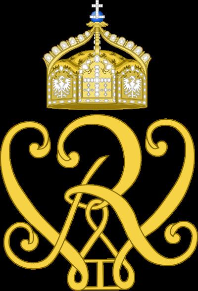 Archivo: Imperial monograma de Kaiser Wilhelm I.svg