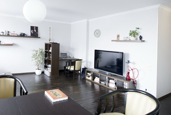 Apartment in Scandinavian Style: Laconic, Clean, Light and Fresh ...