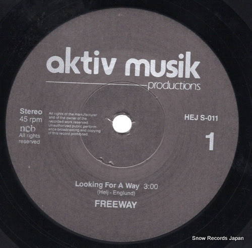 FREEWAY - looking for a way - HEJS-011