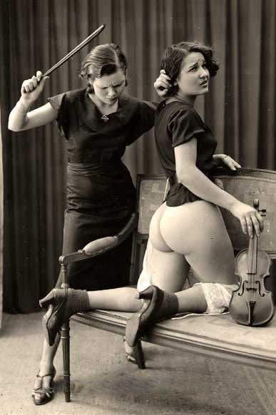 vintagebooty:  Ostra Studios, Violin Student, 1930s