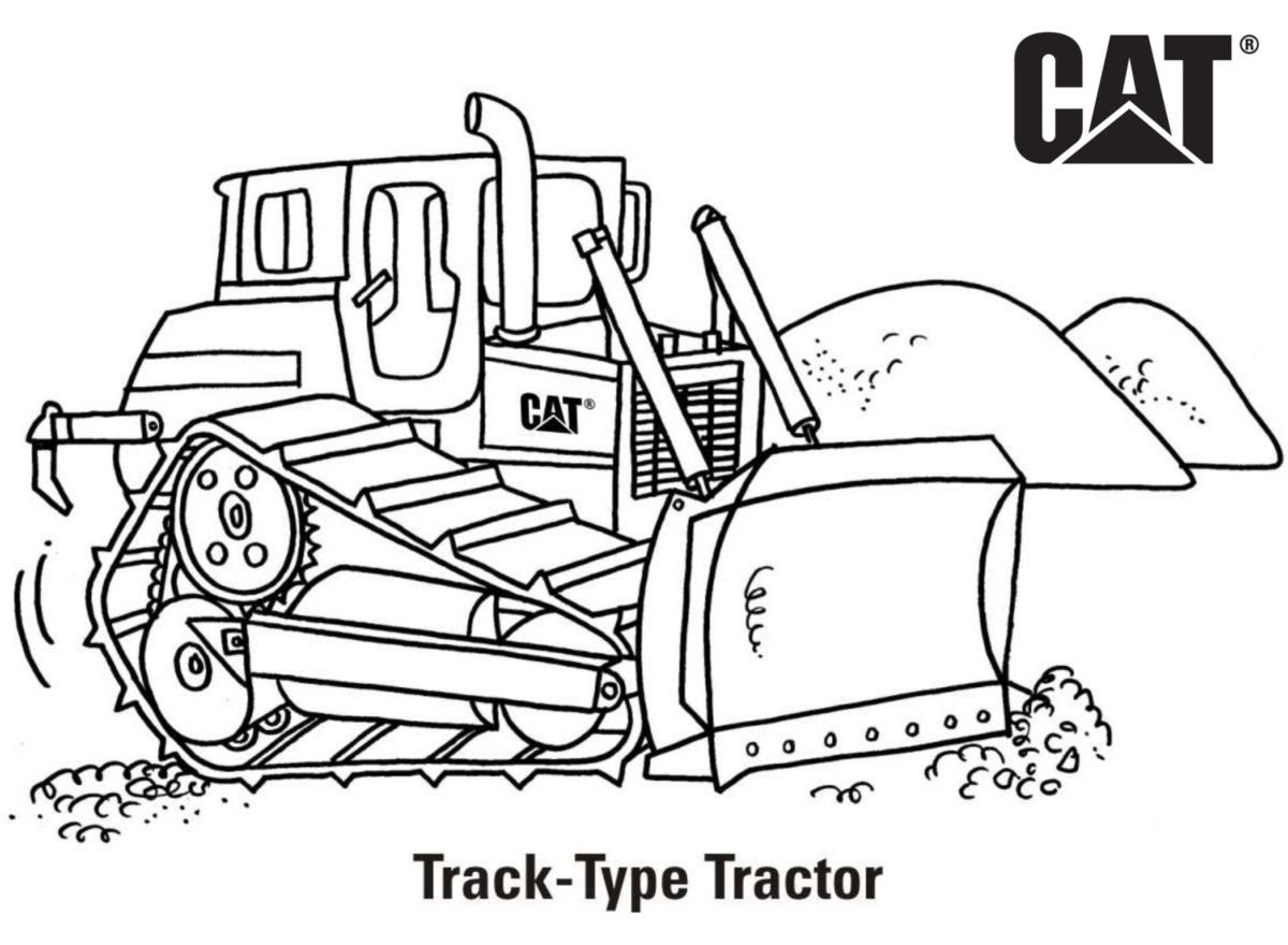 Coloring Pages | Cat | Caterpillar