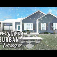 Roblox Bloxburg Cozy Aesthetic Family Home 91k Roblox Welcome To Bloxburg Suburban Family Home No How To Get