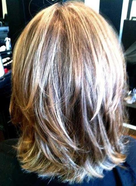 ideas  medium length layered bob hairstyles