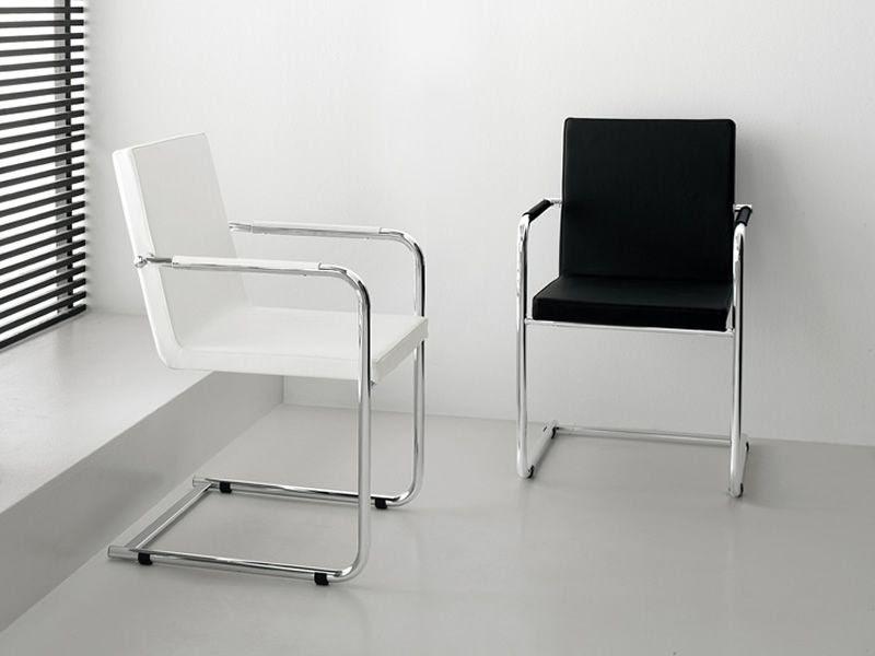 Mobili lavelli sedie in pelle nera for Sedie a prezzi bassi