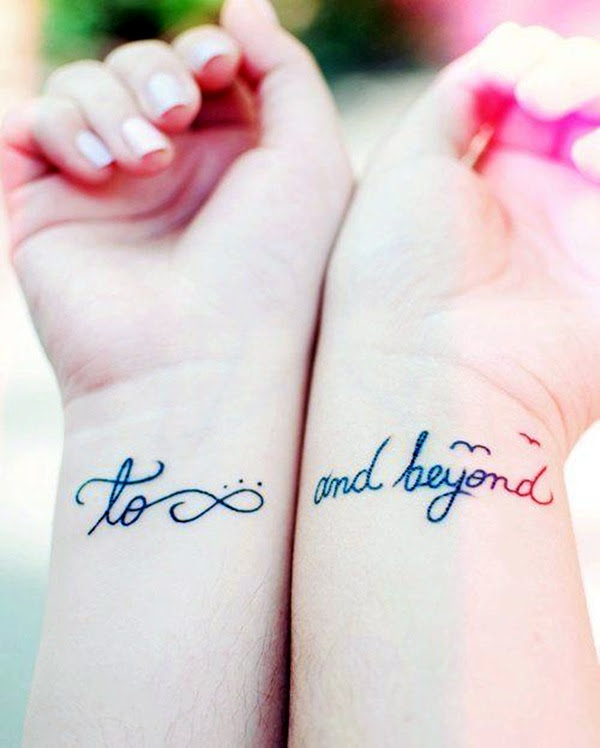 Adorable Sisters Forever Tattoo Design Ideas (22)