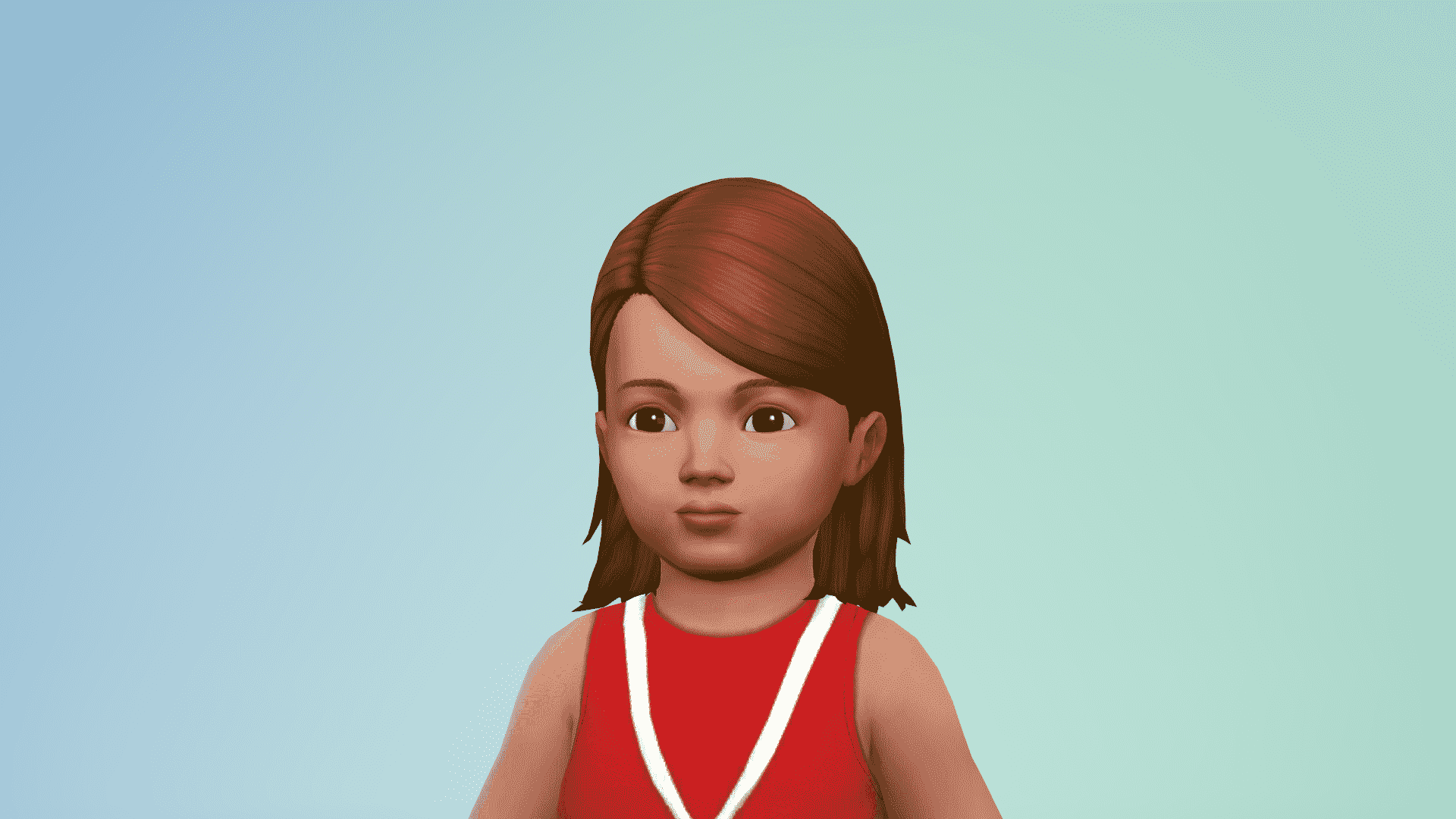 The Sims 4 CC Spotlight: Toddler Maxis Match Hair