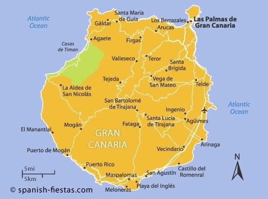 Wetter Maspalomas Gran Canaria