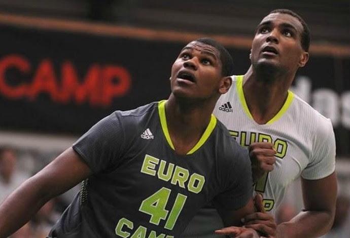 cristiano felicio melhor pivô do eurocamp de basquete (Foto: Reprodução/Instagram)
