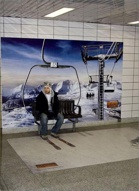 alberta guerrilla marketing ski lift